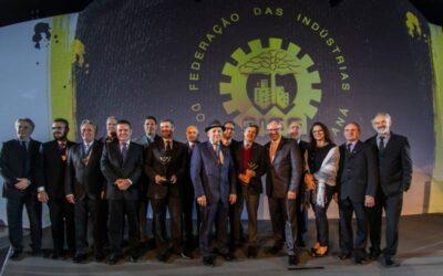 PATOESTE RECEBE DA FIEP A MEDALHA DO MÉRITO INDUSTRIAL 2019